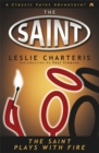 The Saint Plays with Fire - Book