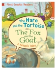 First Graphic Readers: Aesop: The Hare and the Tortoise & The Fox and the Goat - Book