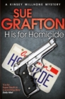 H is for Homicide - Book