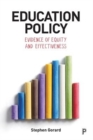 Education policy : Evidence of equity and effectiveness - Book