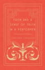 Faith and a Sense of Truth in a Performer - Book