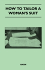 How to Tailor A Woman's Suit - eBook
