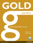 Gold Pre-First Maximiser with Key - Book