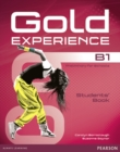 Gold Experience B1 Students' Book for DVD-ROM Pack - Book