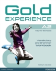 Gold Experience A2 Workbook without key - Book