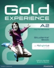 Gold Experience A2 Students' Book for DVD-ROM and MyLab Pack - Book