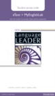 New Language Leader Advanced eText Access Card with MyEnglishLab Pack - Book