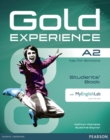 Gold Experience A2 Students' Book with DVD-ROM/MyLab Pack - Book