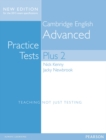 Cambridge Advanced Volume 2 Practice Tests Plus New Edition Students' Book without Key - Book