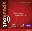 Speakout Elementary 2nd Edition Class CDs (3) - Book