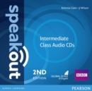 Speakout Intermediate 2nd Edition Class CDs (2) - Book