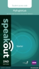 Speakout Starter 2nd Edition MyEnglishLab Student Access Card (Standalone) - Book