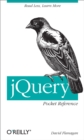 jQuery Pocket Reference : Read Less, Learn More - eBook