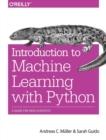 Introduction to Machine Learning with Python : A Guide for Data Scientists - Book