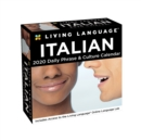 Living Language: Italian 2020 Day-to-Day Calendar - Book