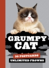 Grumpy Cat Postcard Book - Book