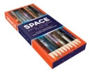 Space Swirl Colored Pencils : 10 two-tone pencils featuring photos from NASA - Book