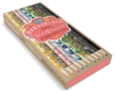 Wanderlust and Wildflowers Colored Pencils : 10 Colored Pencils - Book