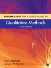 README FIRST for a User's Guide to Qualitative Methods - eBook