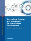 Technology transfer and innovation for low-carbon development - Book