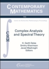Complex Analysis and Spectral Theory - Book