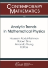 Analytic Trends in Mathematical Physics - Book