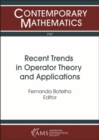 Recent Trends in Operator Theory and Applications - Book