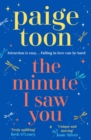 The Minute I Saw You - Book