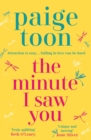 The Minute I Saw You - eBook