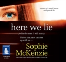 Here We Lie - Book