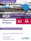 AQA A2 Government & Politics Student Unit Guide New Edition: Unit 4A The Government of the USA Updated - Book