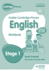 Hodder Cambridge Primary English: Work Book Stage 1 - Book