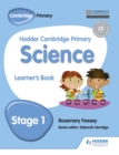 Hodder Cambridge Primary Science Learner's Book 1 - Book