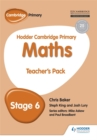 Hodder Cambridge Primary Maths Teacher's Pack 6 - Book