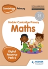 Hodder Cambridge Primary Maths CD-ROM Digital Resource Pack 6 - Book