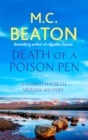 Death of a Poison Pen - Book