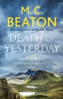 Death of Yesterday - Book