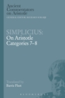 Simplicius: On Aristotle Categories 7-8 - eBook