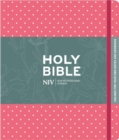 NIV Pink Polka Dot Journalling Bible with Unlined Margins - Book
