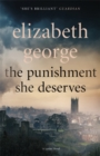 The Punishment She Deserves : An Inspector Lynley Novel: 20 - Book