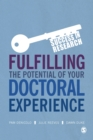 Fulfilling the Potential of Your Doctoral Experience - Book