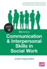 Communication and Interpersonal Skills in Social Work - Book