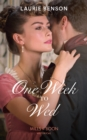 One Week To Wed (Mills & Boon Historical) (The Sommersby Brides, Book 1) - eBook