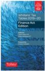 Whillans's Tax Tables 2019-20 (Finance Act edition) - Book