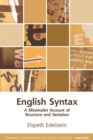 English Syntax : A Minimalist Account of Structure and Variation - Book