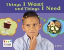 Things I Want and Things I Need - eBook