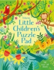 Little Children's Puzzle Pad - Book
