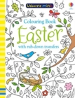 Colouring Book Easter with Rub Downs - Book