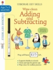 Wipe-Clean Adding and Subtracting 7-8 - Book