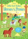 Little First Stickers Horses and Ponies - Book